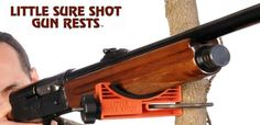 The Little Sure Shot. Pretty cool little gun rest that attaches to a tree. Shooting Sticks, Hunting Gear, Shotgun, Pretty Cool, Outdoor Power Equipment, Guns, Rest, Outdoors, Cool Stuff