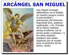Oraciones a San Miguel Arcángel Catholic Prayers, Holy Monday, Get Happy, God Jesus, Dear God, Religion, Inspirational Quotes, San Gabriel, Chakras