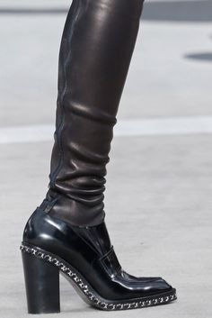 Chanel...perfect heel, perfect style..I could and would wear these.  ✽We❤This!✽ Grenlist.com ツ