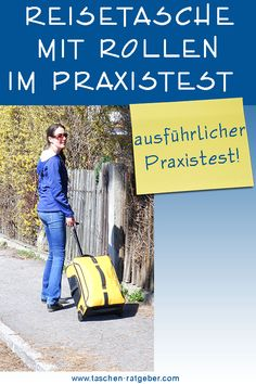 Reisetasche mit Rollen Praxis Test Praxis Test, Trolley, Ecards, Memes, Carry On Suitcases, Air Travel, Viajes, Bags, Pictures