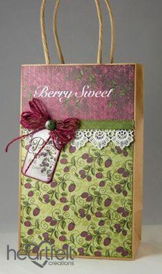 Heartfelt Creations | Berry Sweet Gift Bag