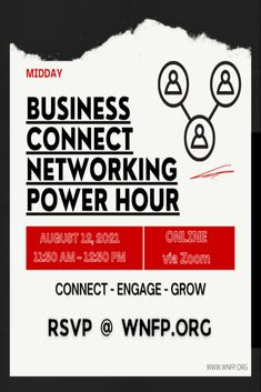 Got any plans this Thursday? Sign up to attend this virtual business networking event. Make new connections and build lasting relationships. Business Networking, Upcoming Events, Growing Your Business, Thursday, Connection, Relationships, Sign, How To Plan, Education