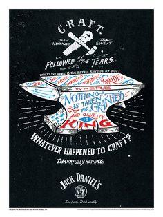 Jack Daniels em série de impressos 100% artesanais » Brainstorm9