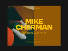 Mike Cherman X Puma designed by Hrvoje Grubisic. Connect with them on Dribbble; the global community for designers and creative professionals. Website Design Inspiration, Layout Inspiration, Graphic Design Inspiration, Minimal Web Design, Editorial Layout, Editorial Design, Web Layout, Layout Design, Design Design