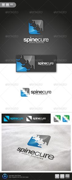 Spine Cure Logo - 02 #GraphicRiver Spine Cure Logo is 100% editable and resizeable vectors! suitable for health consultant, business, health service or other related. Well organized file, All colors and text can be modified, read the instruction readme.pdf Font: read readme.pdf Files: .ai / .eps / .eps version 10 / .psd Size: Resizeable Contact me if you need any help and would be appreciate if you may rate this item.. Cheers! Created: 14November13 GraphicsFilesIncluded: PhotoshopPSD…