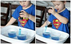 Low prep entertainment for kids on Thanksgiving Day. Turkey Baster Squeeze: Fine Motor Game.