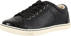 UGG Womens Taya Croco Black Sneaker 55 B M -- You can find out more details at the affiliate link of the image.