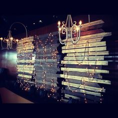 Reception Stage Backdrop c/o K by Cunanan Catering. Twinkly lights c/o Eve. and Co Event Styling.