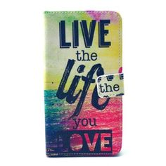 Housse Wiko Rainbow Live the Life you Love