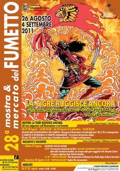 L'artista #PinoRINALDI spiega il suo metodo di lavoro con #SANDOKAN [#manifesto #mostra #mercato #Falconara 2011].   ► http://pinorinaldi.blogspot.it/2011/10/il-mio-metodo-di-lavoro.html / @Pino.Rinaldi.12   #PinoRINALDI: Inaugurazione LA #TIGRE RUGGISCE ANCORA: #Mostra & #Mercato del #Fumetto – #Falconara 2011.   #SANDOKAN. #Fumetto, #romanzo, #sceneggiato, #TV, #cartoon, #music.   #Manifesto, #poster; #copertina, #bookcover, #cartolina, #postcard...