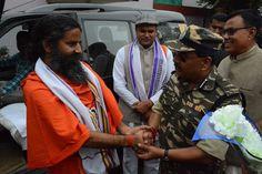 मणिपुर में श्री विक्रम सहगल जी, डी.आई.जी., सी.आर.पी.एफ के साथ भेंट...... #Manipur #yoga