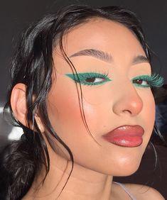 Edgy Makeup, Cute Makeup, Makeup Goals, Pretty Makeup, Skin Makeup, Makeup Inspo, Makeup Art, Makeup Inspiration, Makeup Tips