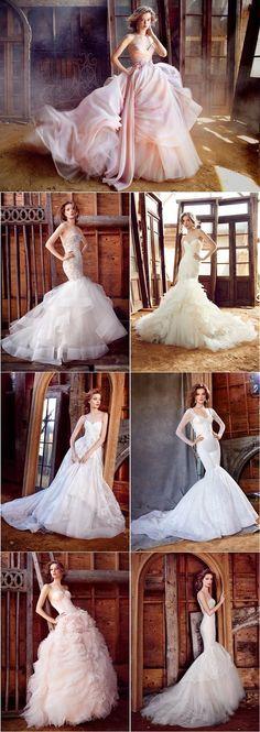 Lazaro Spring Wedding Dresses 2016   http://www.deerpearlflowers.com/lazaro-spring-wedding-dresses-2016/