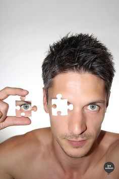 Creative Self-portrait #32 - Jigsaw