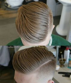 Side Part Combover Hairstyle 2017