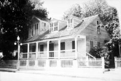 "Florida Memory - The ""Oldest House"" located on Duval St., Key West, Florida."
