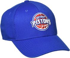 NBA Detroit Pistons Men s Structured Flex Cap 03701f3f09a0