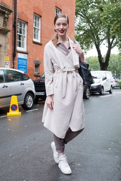 THE BEST OF LONDON FASHION WEEK STREET STYLE SPRING 2016   DAY 5   The Impression