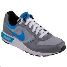 Nike NIGHTGAZER (GS) Gri Mavi Erkek Çocuk Sneaker
