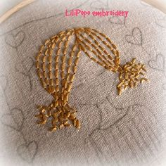 so easy when you see how! Hand Embroidery Patterns Flowers, Silk Ribbon Embroidery, Embroidery Applique, Cross Stitch Embroidery, Embroidery Designs, Needlepoint Patterns, Sewing Stitches, Sewing Crafts, Needlework