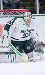 The Michigan State-Michigan hockey game originally scheduled for Saturday, Jan. 25 at Joe Louis Arena has been moved to Thursday, Jan. 23. The game, which will still be played at Joe Louis Arena, will begin at 7 p.m. and be televised by Fox Sports Detroit.