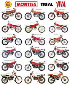 #Montesa family #trial collection