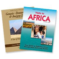 Announcing the new Third Edition of our Genesis through Deuteronomy & Ancient Egypt lesson plans, and Visits to Africa, a new geography resource!