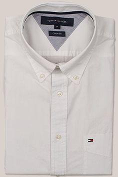 CASAMODA Comfort Fit Hemd Langarm New Kent Kragen Muster blau. Tommy  Hilfiger ... 3982687722