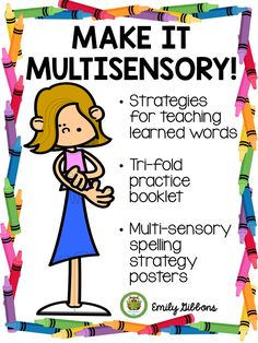 Multisensory Spelling Strategies For Learned Words - The Literacy Nest