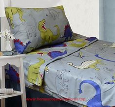 All American Collection 3 Piece Twin Size Dinosaur Sheet Set, Matching Comforter and BUY NOW     $19.99    All American Collection Kids Comforter sets are designed to keep you updated and fashionabl ..  http://www.homeaccessoriesforus.top/2017/03/10/all-american-collection-3-piece-twin-size-dinosaur-sheet-set-matching-comforter-and/