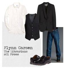 """Flynn Carsen"" by shaylinka on Polyvore featuring Brooks Brothers, Mulberry, H&M and Paul Smith"