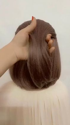 Access all the Hairstyles: - Hairstyles for wedding guests - Beautiful hairstyles for school - Easy Hair Style for Long Hair - Party Hairstyles - Hairstyles tutorials for girls - Hairstyles tutorials Half Updo Hairstyles, Cute Hairstyles For Short Hair, Little Girl Hairstyles, Wedding Hairstyles, Beautiful Hairstyles, School Hairstyles, Hairstyles Videos, Baddie Hairstyles, Fringe Hairstyles