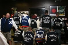 Straight Edge varsity jackets