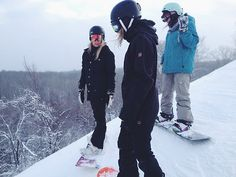 Learn how to snowboard! More