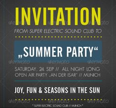 Invitation Flyer Template Psd Word For Christmas And New Year
