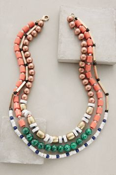 at anthropologie Strawberry Hill Necklace