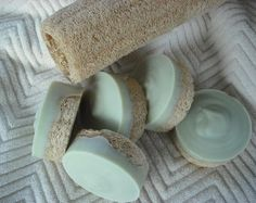 Green Tea Soap / Activated Charcoal / Poppy Seed by JOANSGARDENS