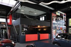Design by BuroProject. Showroom Design, Interior Design, All Design, Brussels, Mini, Projects, Reception, Shopping, Casual