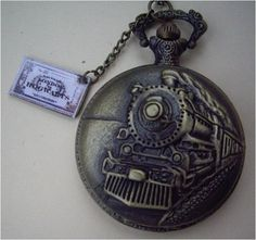 Never miss a Hogwarts Express train again with the locomotive pocket watch and ticket! | The 24 Most Magical Tributes To Hogwarts