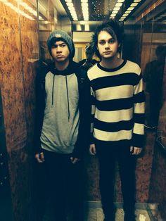 Calum, Luke and Michael