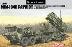 Dragon+Model+Kits | 3558 - 1/35 MIM-104B Patriot Surface-To-Air Missile (SAM) System (PAC ...