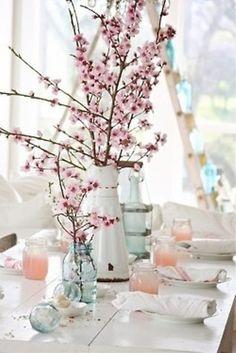 Table decor - Spring Per matrimonio primaverile