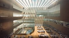Gallery of Schmidt Hammer Lassen Design New Shanghai Library - 2