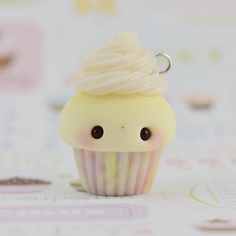 #kawaii #charms #polymer #clay #pastel #rainbow #cupcake