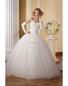Salle intérieure Mode de bal Longueur ras du sol Robes de mariée 2014
