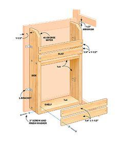 18 Inspiring Inside-Cabinet Door Storage Ideas | Pinterest | Inside ...