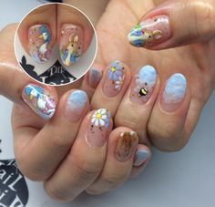 Peter rabbit nails see more nail designs at httpnailsss the nail artelier gel manicure with nail art with peter rabbit prinsesfo Image collections