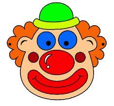 Maestra de Infantil: Payasos. Caretas para imprimir. Dibujos para colorear. Le Clown, Yoshi, Winnie The Pooh, Smurfs, Hello Kitty, Disney Characters, Fictional Characters, Album, Clowns