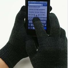 EZ-TOUCH Touchscreen Gloves – Best Christmas Gift 2012 $8.00 - Nguyen Gallery | Shoes | Tattoos | Fashion | Hair