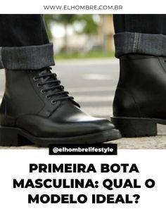 estilo, moda, bota masculina All Black Sneakers, Dressing, Shoes, Fashion, Masculine Style, Man Fashion, Templates, Moda, Zapatos